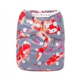 Alva Pocket Diaper - Koi