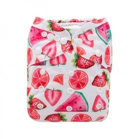 Alva Pocket Diaper - Red Fruit