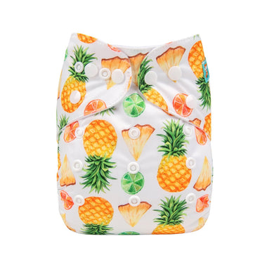 Alva Pocket Diaper - Pineapple & Limes