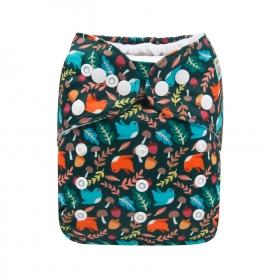 Alva Pocket Diaper - Birds