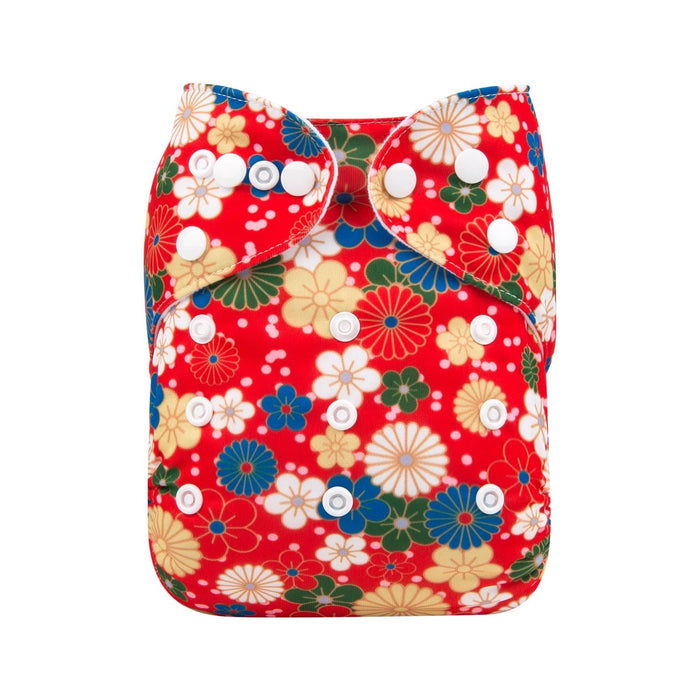 Alva Pocket Diaper - Red Beauty