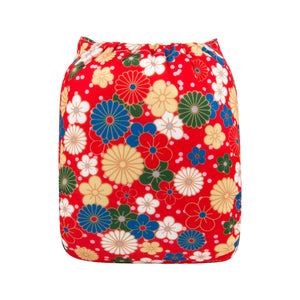 Alva Pocket Diaper - Red Beauty - Happy BeeHinds