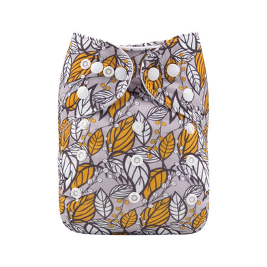 Alva Pocket Diaper - Leaves