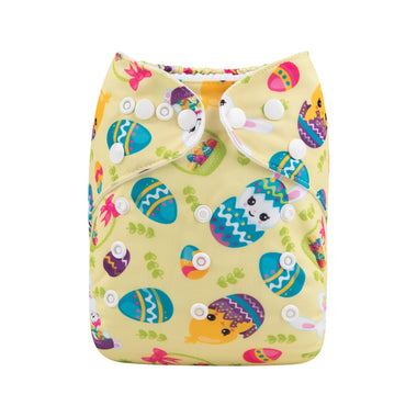 Alva Pocket Diaper - Spring Hatching