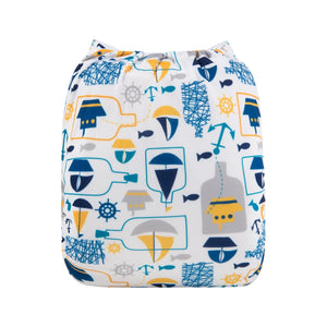 Alva Pocket Diaper - Nautical