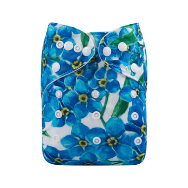 Alva Pocket Diaper - Blue Beauty
