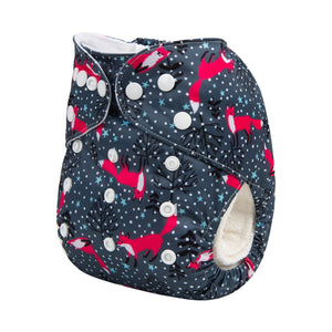 Alva Pocket Diaper - Red Fox