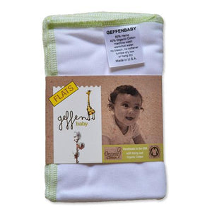 Geffen Baby Flat Diaper - Happy BeeHinds