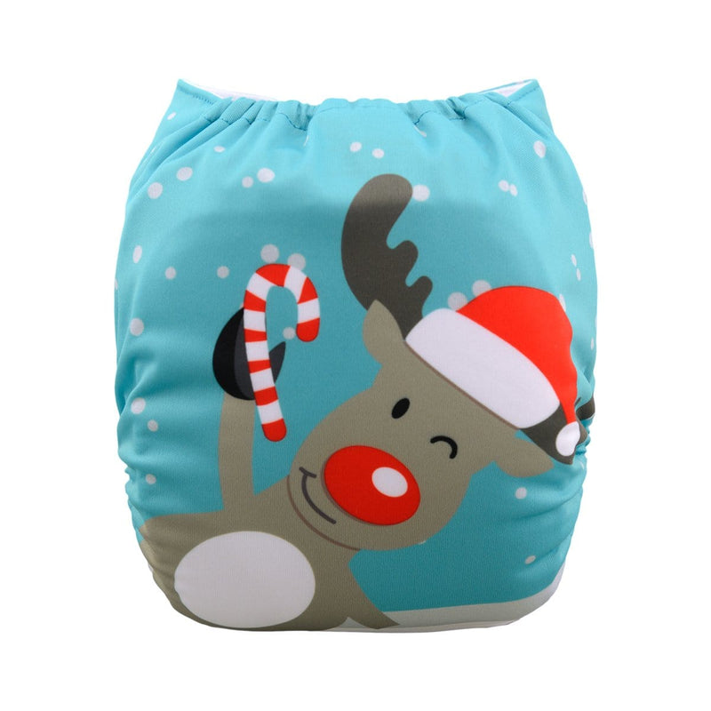Alva Pocket Diaper - Red Nose