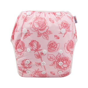 Alva Swim Diaper - Rose - Happy BeeHinds
