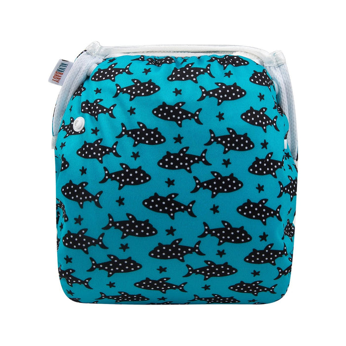 Alva Swim Diaper - Dotted Fish