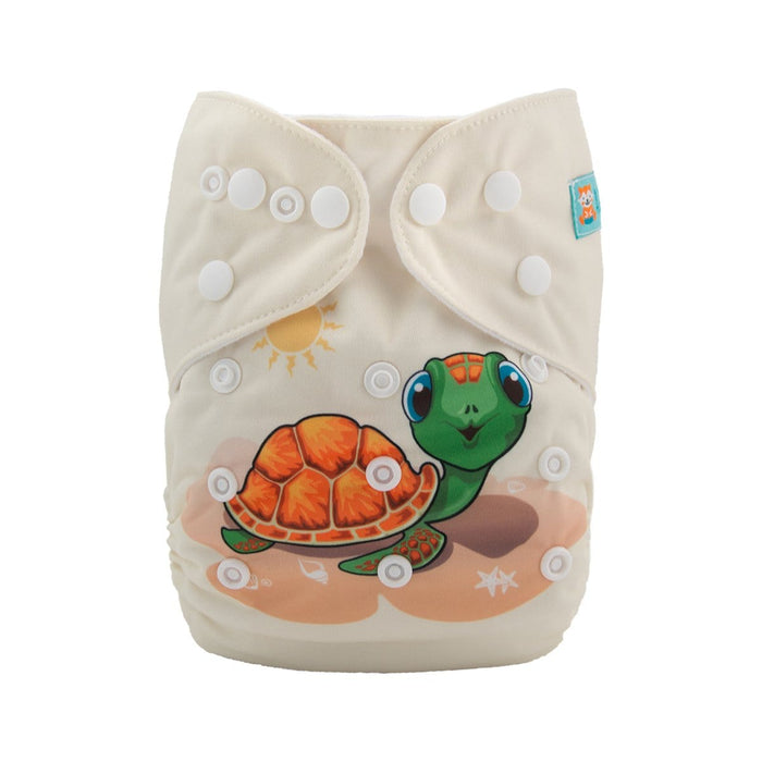 Alva Pocket Diaper - Turtle