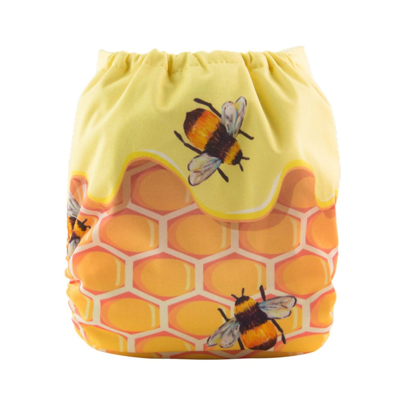 Alva Pocket Diaper - Honey Bee - Happy BeeHinds