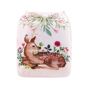Alva Pocket Diaper - Sweet Fawn - Happy BeeHinds