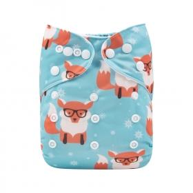 Alva Pocket Diaper - Fox