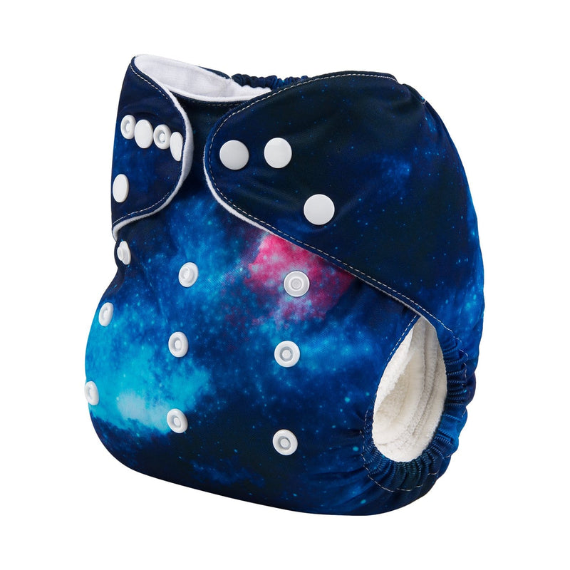 Alva Pocket Diaper - Galaxy Whale