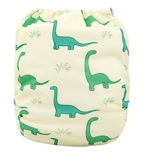 Alva Pocket Diaper - Dinosaur - Happy BeeHinds