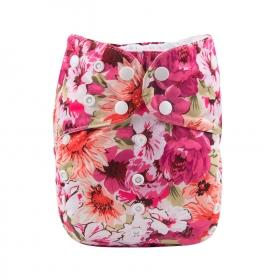 Alva BIG Pocket Diaper - Flowers