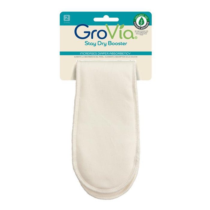 Grovia Stay Dry Booster 2 pack