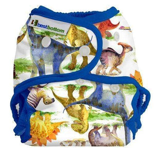 Best Bottom All In Two Diaper Cover - Dino Mite