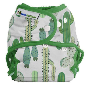Best Bottom All In Two Diaper Cover - Prickly Cactus