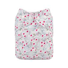 "Mama Koala Pocket Diaper - ""Summer Sweetness"" Balloons"