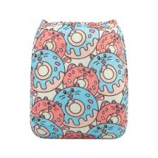 "Mama Koala Pocket Diaper - ""Summer Sweetness"" Fish"