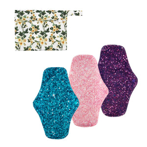 Cloth Pad 3 Pack Combo - Medium