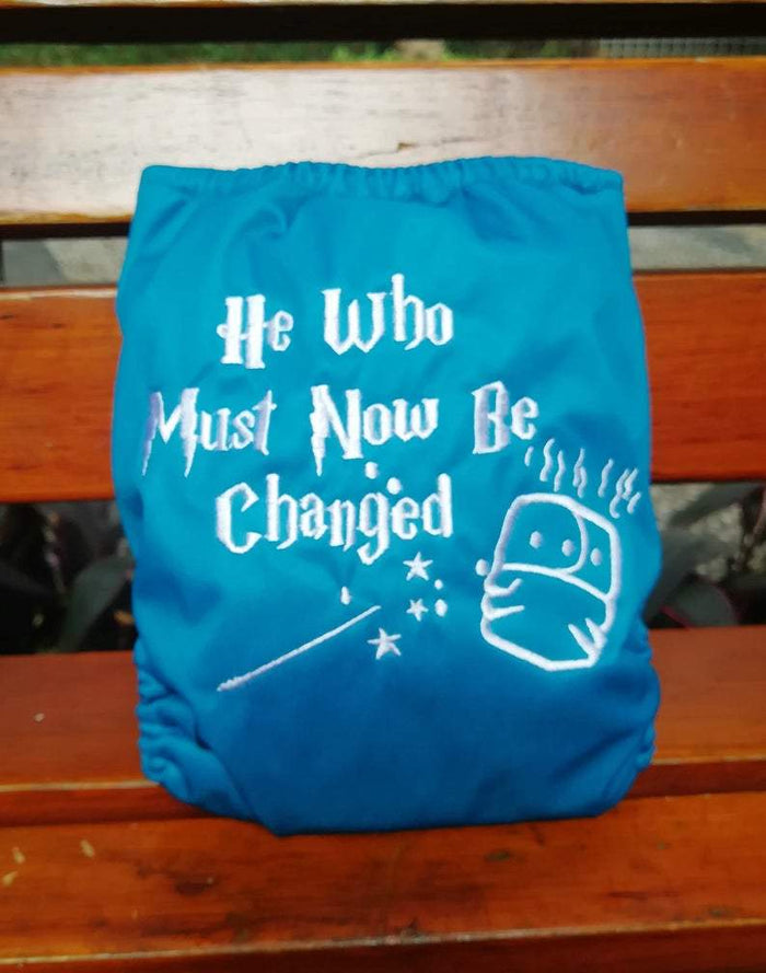Embroidered AIO - He who must now be Changed