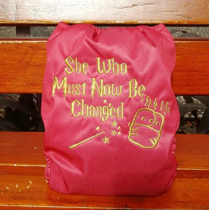 Embroidered AIO - She who must now be Changed