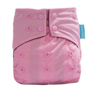 Happy Flute Pocket Diaper - Pink