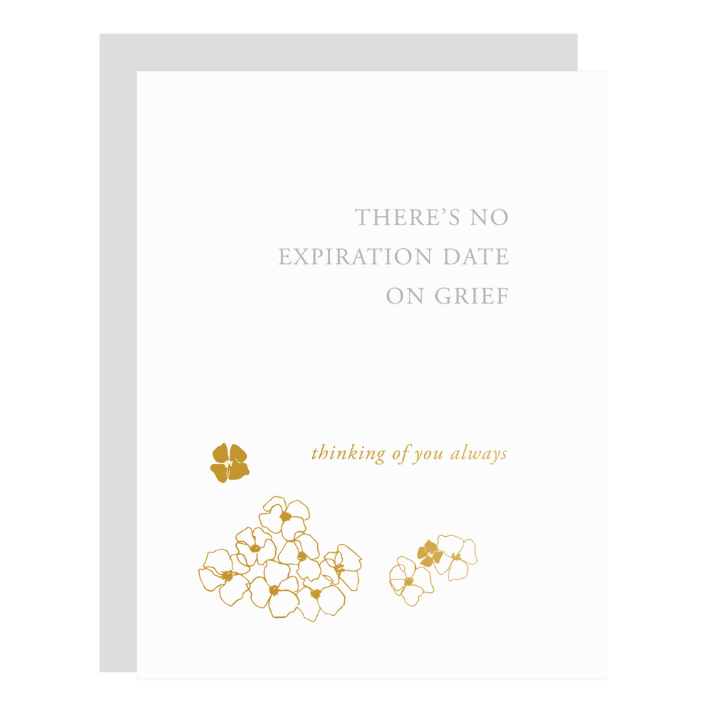 Expiration Date on Grief