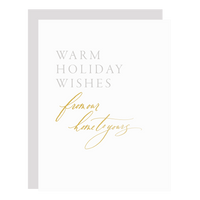 Warm Holiday Wishes