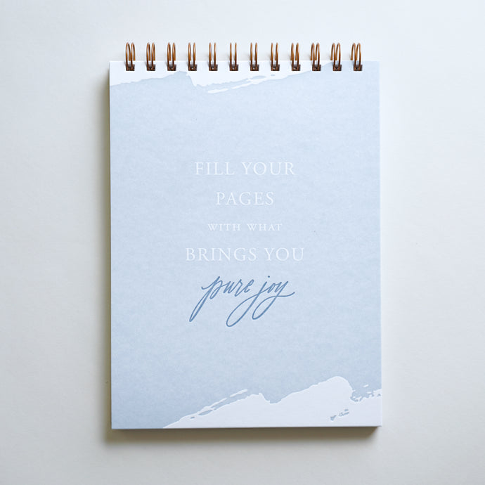 Pure Joy Lined Notebook