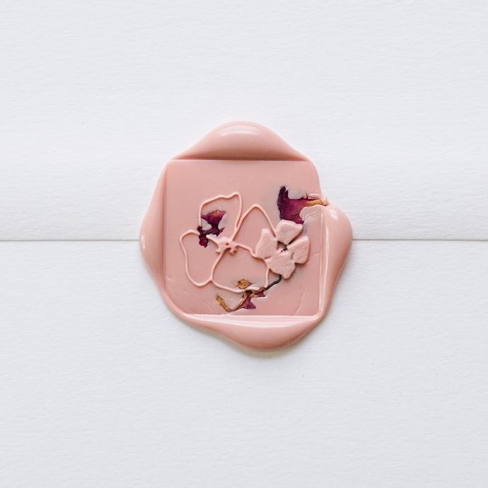 Rose Petal Wax Seals