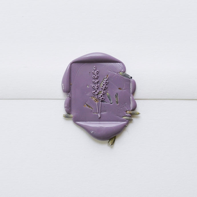 Lavender Wax Seals