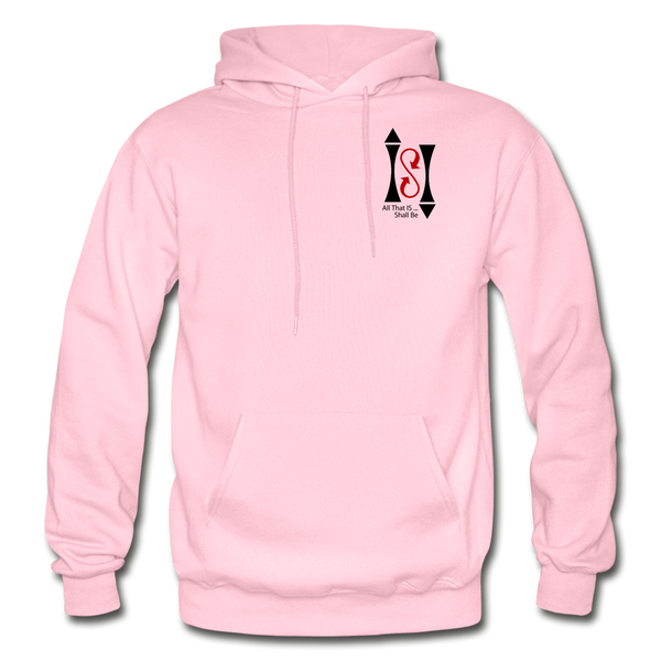 Gildan Heavy Blend Ladie's Hoodie - light pink