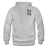 Gildan Heavy Blend Ladie's Hoodie - heather gray
