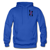Gildan Heavy Blend Ladie's Hoodie - royal blue