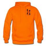 Gildan Heavy Blend Ladie's Hoodie - orange
