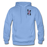 Gildan Heavy Blend Ladie's Hoodie - carolina blue