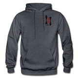 Gildan Heavy Blend Ladie's Hoodie - charcoal gray