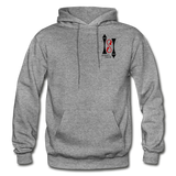 Gildan Heavy Blend Ladie's Hoodie - graphite heather