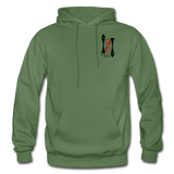 Gildan Heavy Blend Ladie's Hoodie - military green
