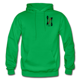 Gildan Heavy Blend Ladie's Hoodie - kelly green