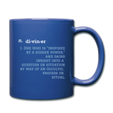Diviner  Mug - royal blue