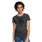 Witches are...Women's T-Shirt - heather black