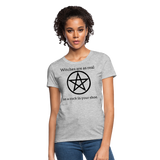 Witches are...Women's T-Shirt - heather gray