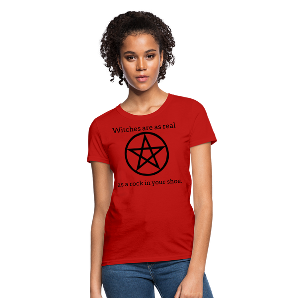 Witches are...Women's T-Shirt - red