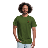 ISI Unisex Jersey T-Shirt by Bella + Canvas - olive